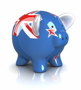 New Zealand Piggy Bank